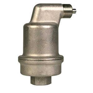 Автоматический воздухоотводчик Spirotop 1/2, артикул AB050/R002, высокие температуры, нержавеющая сталь