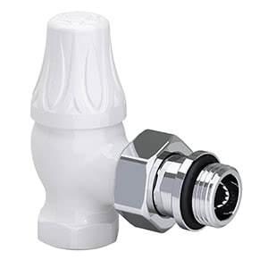 "Угловой клапан SR Rubinetterie для радиатора серия Old Style 1/2"", цвет: белый, арт. 0341-1500VC0A"