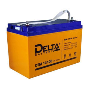 Свинцово-кислотные аккумуляторные батареи Delta серии DTM 1265 L