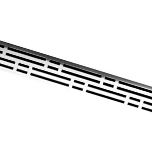 Решетка BASIC для дренажного канала TECEdrainline для слива, из нержавеющей стали, прямая, 600710