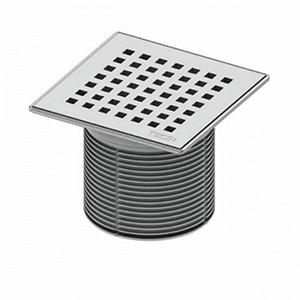 """Декоративная решетка """"quadratum"""" TECEdrainpoint S 150 мм с монтажным элементом, 366 00 08"""