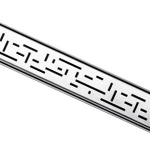 Решетка LINES для дренажного канала TECEdrainline для слива, из нержавеющей стали, прямая 6 007 20
