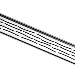 Решетка ORGANIC для дренажного канала TECEdrainline для слива, из нержавеющей стали, прямая 6 007 60