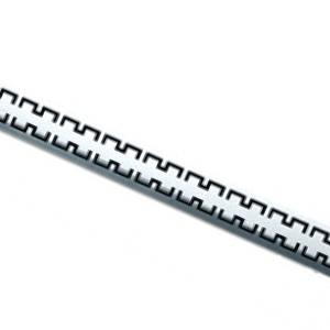 Решетка ROYAL для дренажного канала TECEdrainline для слива, из нержавеющей стали, прямая 6 007 40