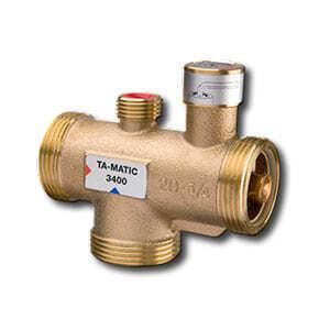 Tour & Andersson Термостатический смесительный клапан TA-MATIC, DN25, 45-65 C, PN10, бронза, 52740233