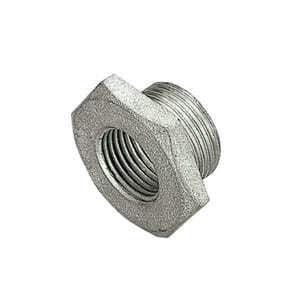 TIEMME Футорка НВ 1x1/2 никелированная для стальных труб резьбовая 1500175