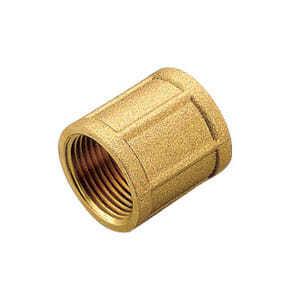 Муфта TIEMME ВВ 1/2х1/2 для стальных труб резьбовая 1500034