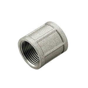 Муфта TIEMME ВВ никелированная 1 1/4х1 резьбовая 1500376