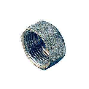 Заглушка TIEMME ВР 1 1/2 никелированная для стальных труб резьбовая 1500489