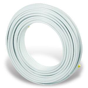 Uponor MLC металлопластиковая труба белая 16х2,0 в бухтах по 200 м, артикул 1013371 (1084909)