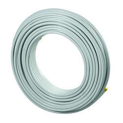Uponor MLC металлопластиковая труба белая 25х2,5 в бухтах по 50 м, артикул 1013398