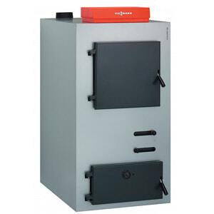 Напольный твердотопливный котел Viessmann Vitoligno 100-S 25 кВт VL1A024