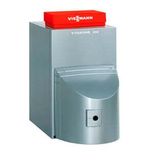 Напольный универсальный котёл Viessmann Vitorond 100 40 кВт с Vitotronic 100 KC4B, без горелки VR2BB23
