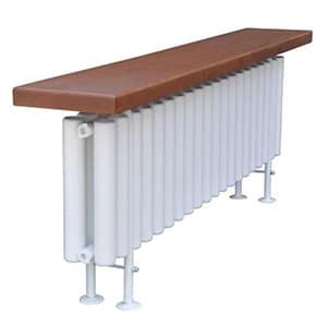 Стальной трубчатый радиатор-скамейка Завалинка Гармония 2-300-14