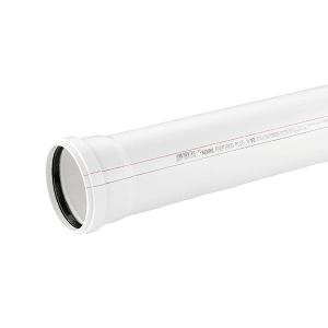 Труба канализационная REHAU RAUPIANO PLUS D 110/1000 мм, арт. 120294-200(120294-005)