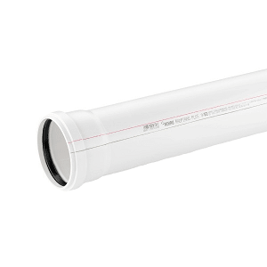 Труба канализационная REHAU RAUPIANO PLUS D 110/1500 мм, арт. 120304-200(120304-005)