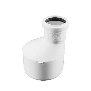 Переходник (редукция) REHAU RAUPIANO PLUS 110/50, для канализационных труб, арт. 121394-001