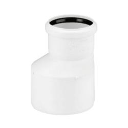 Переходник REHAU RAUPIANO PLUS 50/40, для канализационных труб, арт. 123124-001