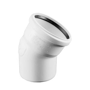 Отвод REHAU RAUPIANO PLUS диам. 110 на 30°, для канализационных труб, арт. 123434-001