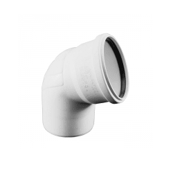 Отвод REHAU RAUPIANO PLUS диам. 110 на 45°, для канализационных труб, арт. 11234441001
