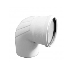 Отвод REHAU RAUPIANO PLUS диам. 110 на 87°, для канализационных труб, арт. 11234641001