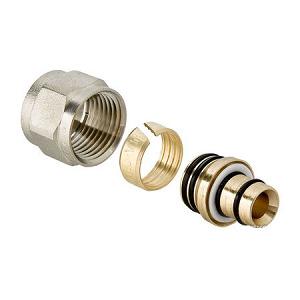 """Компрессионный фитинг IVR 3/4""""х16х2 для многослойной и Pex трубы, арт. 158107163"""