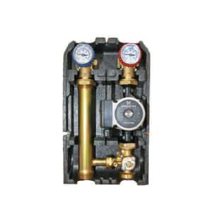 """Насосная группа  Barberi с прямым контуром 1"""" с насосом Grundfos UPSO 25-65 в теплоизоляции, арт. 01G02500C"""
