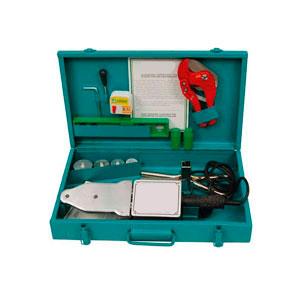 Сварочный аппарат FIRAT в ящике с комплектом матриц (50-75 мм) CM04SET