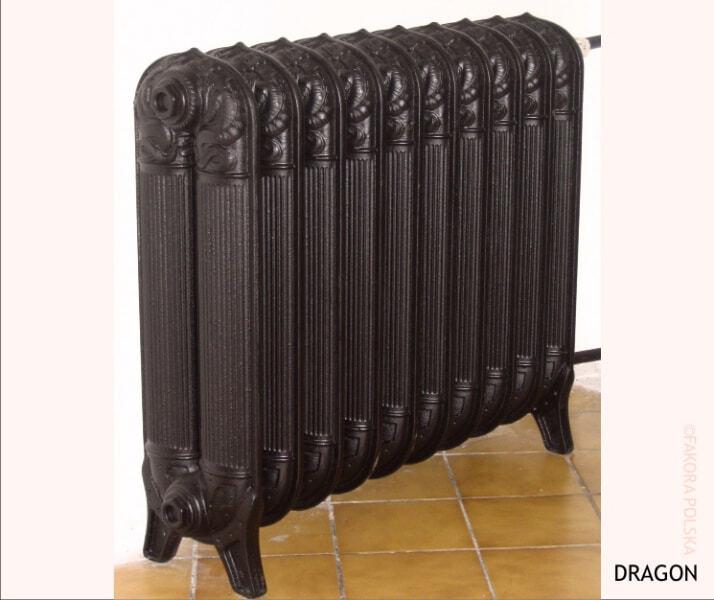 FAKORA DRAGON, чугунные радиаторы ретро (под старину)