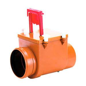 Механический канализационный затвор HL для вертикального монтажа с запирающей заслонкой, HL712.1