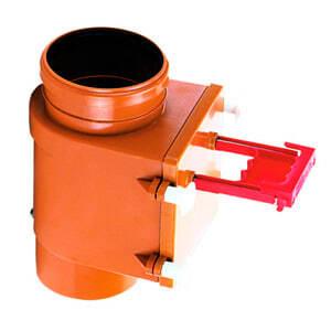 Механический канализационный затвор HL для вертикального монтажа с запирающей заслонкой, HL710.1V