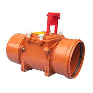 Механический канализационный затвор HL для вертикального монтажа с запирающей заслонкой, HL720.1