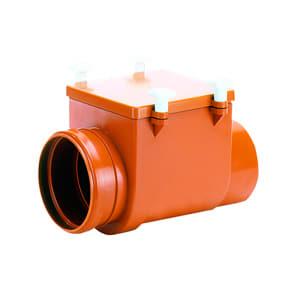 Механический канализационный затвор HL для колодцев из профилированной нержавеющей стали с монтажным люком, HL715
