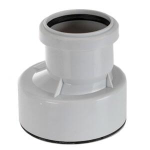 Переходник HL DN50/100 с поливинилхлорида (ПВХ), полипропилена (ПП) на чугун, свинец, сталь, HL9/50/1
