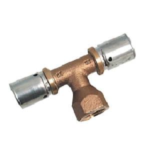 """Пресс-тройник с внутренней резьбой Oventrop 50 х G1"""" х 50 мм, Арт. 1513656"""