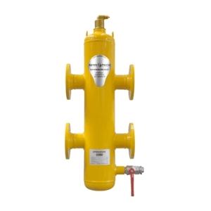 Гидравлический сепаратор Spirocross/фланцевое соединение/сталь 37, артикул XC125F