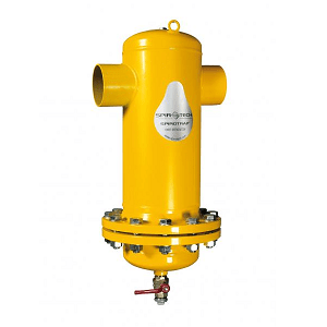 Сепаратор шлама Spirotrap Hi-flow/разъемный корпус/сварка/сталь 37, артикул HF150L