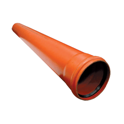 Труба канализационная Ostendorf KGEM однораструбная D-125х2000, арт. 221020