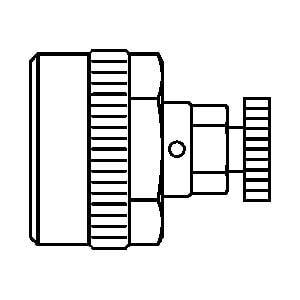 Заглушка для опрессовки с воздухоотводчиком Oventrop 20х 2,5 мм (набор 10 шт), Арт. 1506087