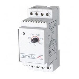 Терморегулятор DEVI Д-330, +60°C-+160°C,с датч. на проводе (140F1073)