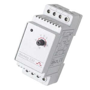 Терморегулятор DEVI Д-330, -10°C-+10°C с датч. на проводе (140F1070)