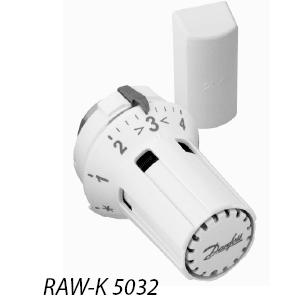 Термостатическая головка Danfoss серия RAW-K, артикул 013G5032 (013G7097)