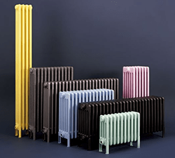 Многообразие цветовых исполнений радиаторов Irsap