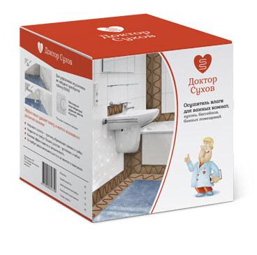 Осушитель влаги для ванных комнат Доктор Сухов