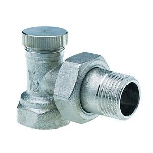 """Запорный вентиль Hummel G 1/2"""" угловой, запорный, регулируемый 2905120001"""