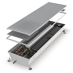 Конвектор встраиваемый в пол с вентилятором MINIB COIL-HC4pipe-900 (без решетки)