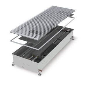 Конвектор встраиваемый в пол с вентилятором (для влажных помещений) MINIB COIL-KO2-2500 (без решетки)
