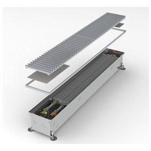 Конвектор встраиваемый в пол с вентилятором MINIB COIL-KT1-2500 (без решетки)