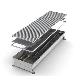 Конвектор встраиваемый в пол с вентилятором MINIB COIL-KT-1250 (без решетки)