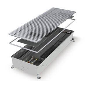 Конвектор встраиваемый в пол с вентилятором MINIB COIL-KT2-1250 (без решетки)
